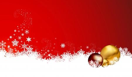 frieren: Abstract christmas Hintergrund mit Schneeflocken