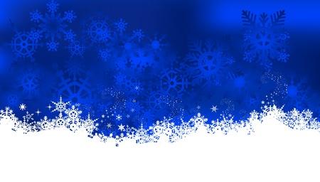 snowflake border: christmas background with snowflake