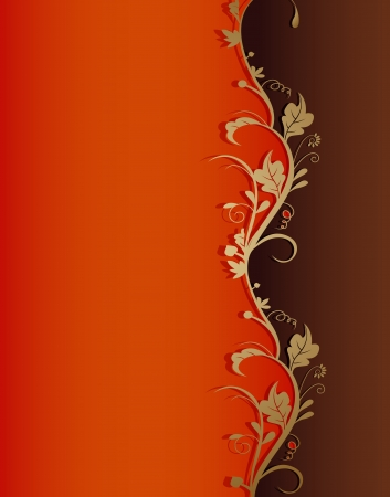 vintage retro floral background Stock Vector - 16593471