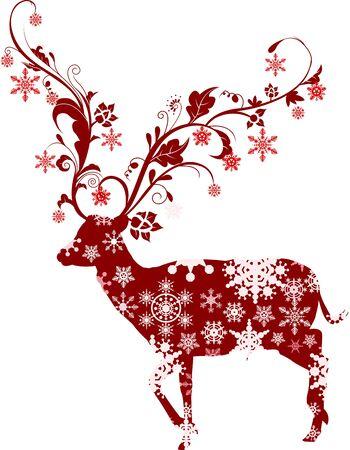 Kerst herten