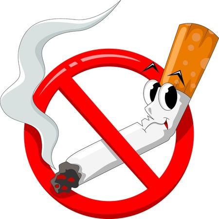 butt: no smoking cartoon