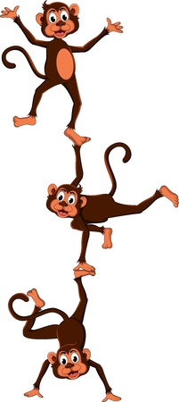 monkey s cartoon attraction