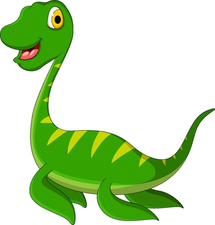 dinosaurio caricatura: historieta del dinosaurio