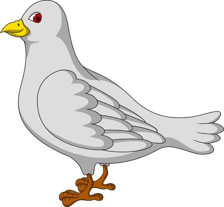 paloma caricatura: historieta blanca paloma