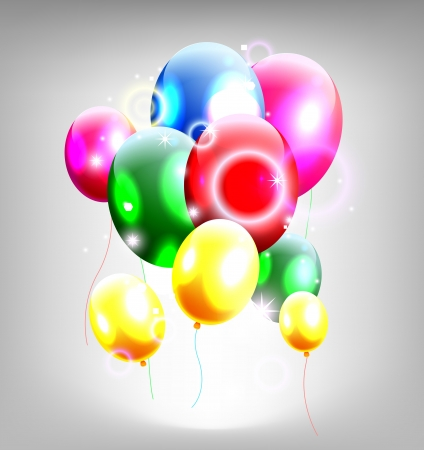 balloons decoration for you design Stock Vector - 19988974