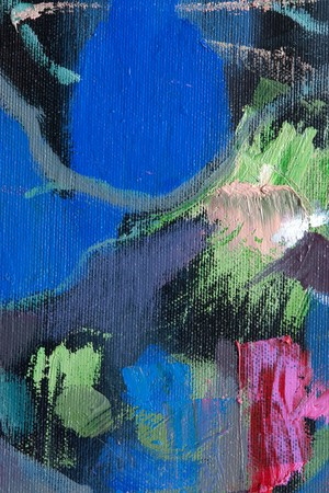 Abstract fragment of painting, can be used as background Stock Photo - 7037907