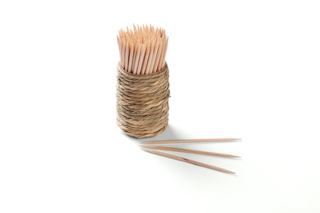 There are package of toothpick