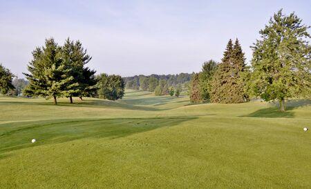 Beautiful Golf Course Evening