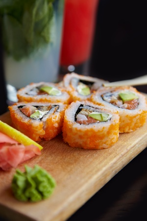 expensive food: Sushi
