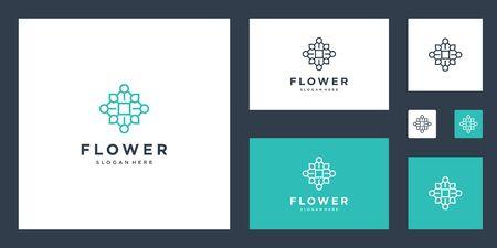 Flower design inspiration simple lines