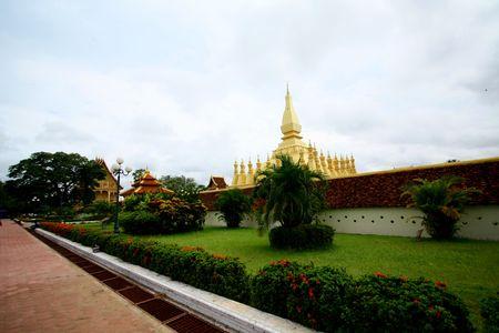 lao: le symbole de lao Banque d'images