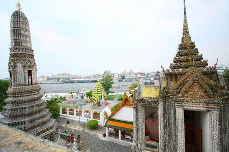 Dawn Tempel Stockfoto