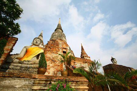 Wat Yai Ayudhya 版權商用圖片 - 5098679