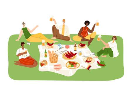 Oktoberfest or beer festival event