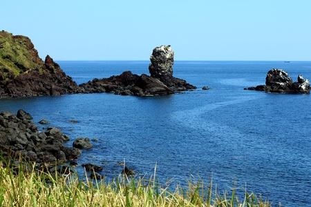 Jeju Island, Korea - Rock fomation