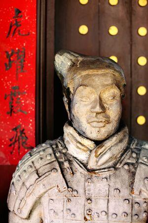 melacca: Chinese Statue Stock Photo