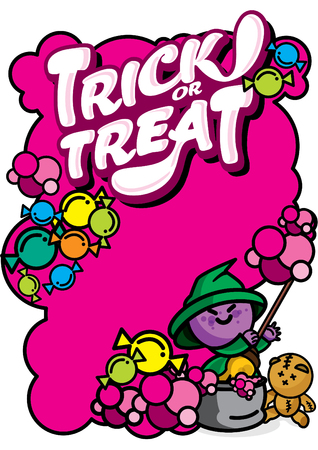 Halloween-Trick or Treat Witch