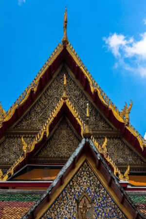 Gable of the thai temple