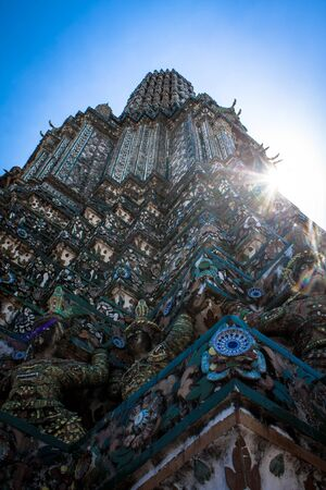 the stupa: Ancient Stupa Stock Photo