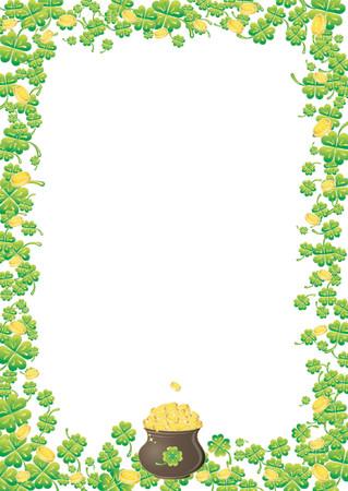 earthenware: Fondo para el d�a del St. Patrick