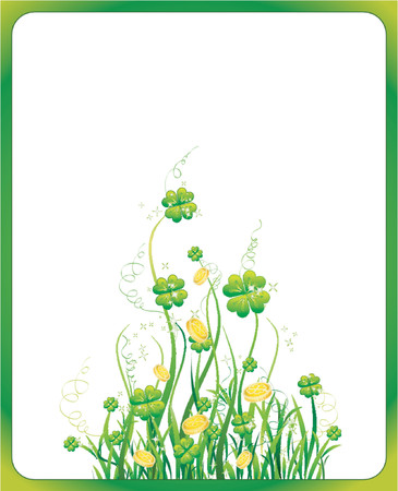 Background for St. Patrick's Day Stock Vector - 866417
