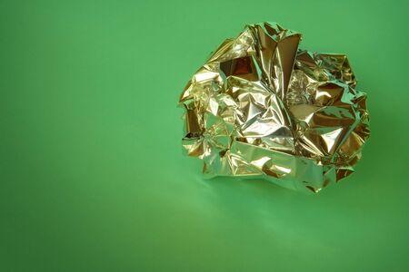 crumple: Crumple tin-foil