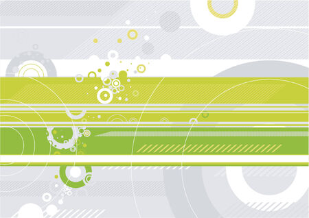 modern green background, vector illustration