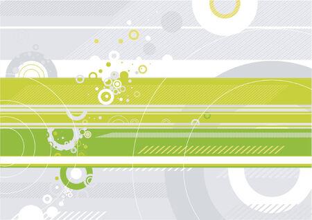 Moderna fondo verde, ilustración vectorial