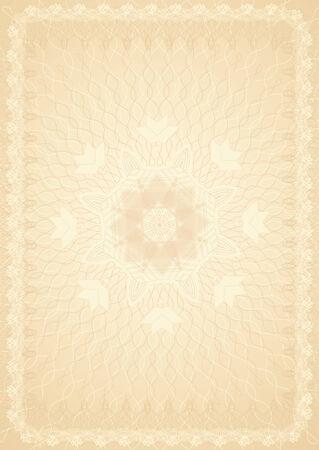 oorkonde: certificaat achtergrond, vector illustration