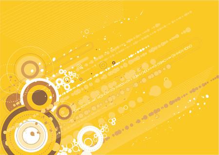 modern yellow background,vector illustration Illustration