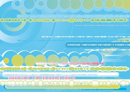 Modern blue background, vector Stock Vector - 921975