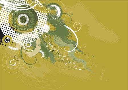 Background with shapes, vector Stock Vector - 921978
