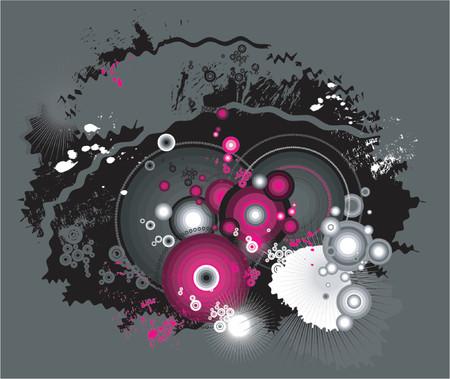 Modern background, vector Vector