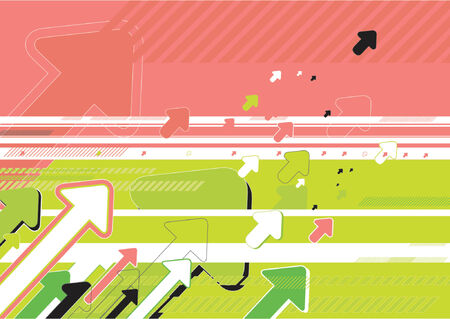modern  background with many arrows,vector illustration Illustration