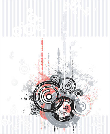 Vector background with many shapes Stock Vector - 951644
