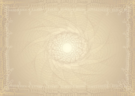 charter: Vector certificate background Illustration