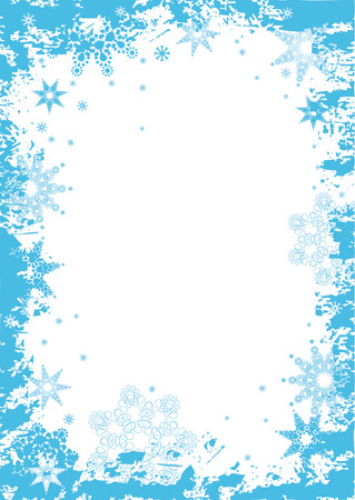 christmas background with snowflakes,vector illustration Stock Vector - 979515