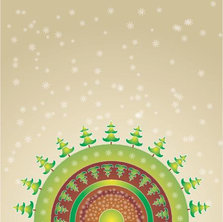 alder: decorative christmas card