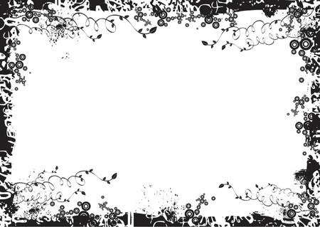 framed: framed background,vector illustration Illustration