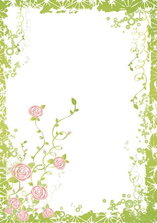 arte, obras de arte, de fondo, cepillo, círculo, imágenes prediseñadas, decorativo, detalle, elemento, flor, marco, verde, grunge, vacaciones, ilustración, hoja, carta, bonito, moderno, la naturaleza, el ornamento, rosa, planta, bonita, rosa, in situ, la primavera, el estilo, vector, resumen, fiesta, color, composición, belleza, cumpleaños, curva, gráfica, caricatura, dibujo, diseño, pintura, fotografía, retro, temporada, la forma, la boda, imágenes prediseñadas, vacaciones, estilización  Foto de archivo - 1103435