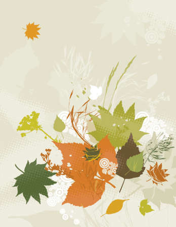 illustration, stylization, composition, silhouette, background, creativity, decoration, separable, abstract,  cartoon, tracing, scented, clipart, contour, drawing, graphic, natural, nature, grunge, design, season, circle, vector, spray, stalk, plant, color, brush, shape, black, grass, curve, green, herb, stem, crop, leaf, red Stock Vector - 1155965