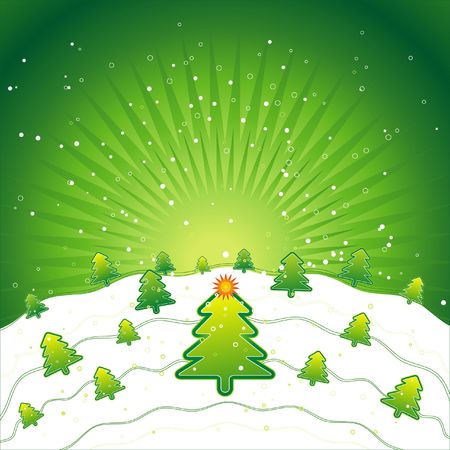 radiance: new, eve, tree, star, xmas, card, pine, snow, print, green, flake, field, curve, light, paint, shape, color, merry, alder, vector, forest, design, winter, nature, natural, holiday, graphic, drawing, clipart, colours, picture, cartoon, greeting, trimming, abstract, radiance, gradation, christmas, snowflake, beautiful, decoration, composition, stylization, illustration