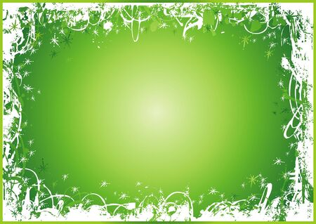 year curve: green, new, eve, cold, xmas, card, snow, year, flake, curve, paint, shape, small, frame, color, merry, point, vector, letter, season, design, winter, nature, holiday, graphic, drawing, clipart, picture, cartoon, greeting, abstract, christmas, snowflake, beautiful, decoration, background, celebration, composition, stylization, illustration