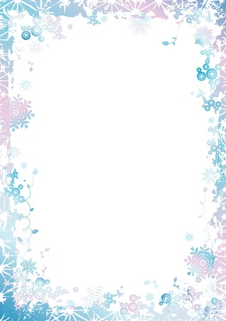year curve: Violet , new, eve, cold, xmas, card, snow, year, flake, curve, paint, shape, small, frame, color, merry, point, vector, letter, season, design, winter, nature, holiday, graphic, drawing, clipart, picture, cartoon, greeting, abstract, christmas, snowflake, beautiful, decoration, background, celebration, composition, stylization, illustration