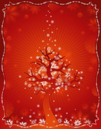 year curve: red, new, eve, cold, xmas, card, snow, year, flake, curve, paint, shape, small, frame, color, merry, point, vector, letter, season, design, winter, nature, holiday, graphic, drawing, clipart, picture, cartoon, greeting, abstract, christmas, snowflake, beautiful, decoration, background, celebration, squiggle, composition, stylization, illustration, floral
