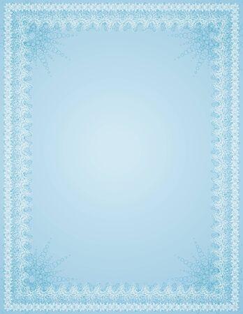 oorkonde: leeg, achtergrond, grens, certificaat, Handvest, decoratie, decoratief, daad, diploma, document, frame, illustratie, brief-certificatory, oude, ornament, papier, vector, vignet, abstract, viering, kleur, samenstelling, prachtige, curve, afbeelding, tekening, design, verf, beeld, retro, vorm, clipart, vakantie, stilering, Kerstmis, klassieke, oude, antieke Stock Illustratie