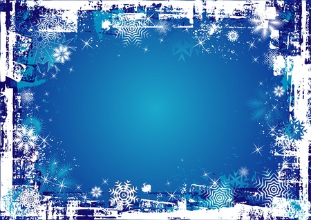 Blue christmas background,vector illustration Vector