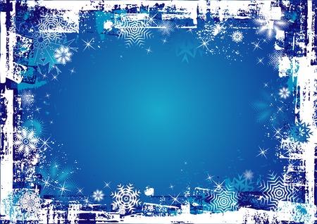 Blue christmas background,vector illustration Illustration