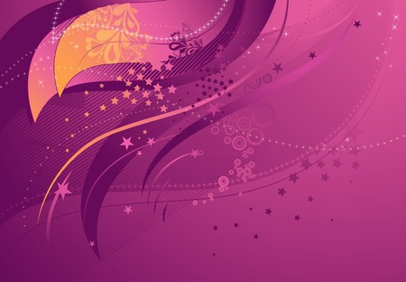 background with lines and forms, vector illustration