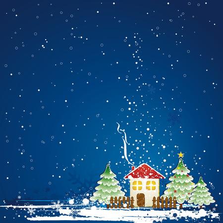 christmas card, vector Stock Vector - 2011140